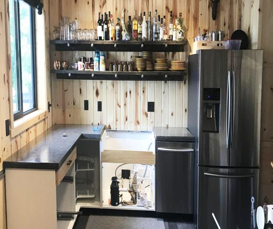 Design by project: Poured-in-Place Concrete Countertops