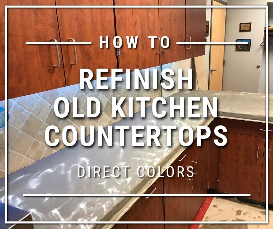 Design by colorant: Concrete Overlay Countertops