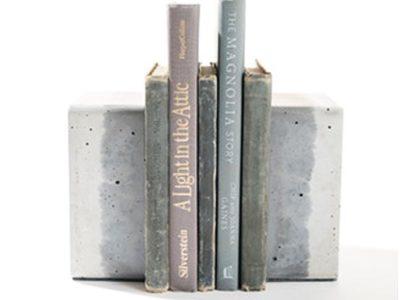 Concrete Book Holders
