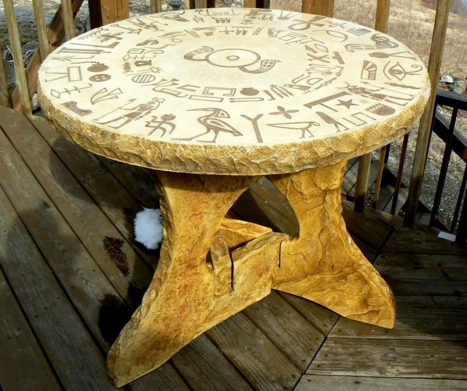 Design by project: Hand-Crafted Concrete Table Design Ideas