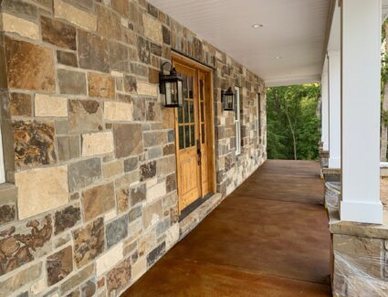 How to Acid Stain Concrete Patio - Cola