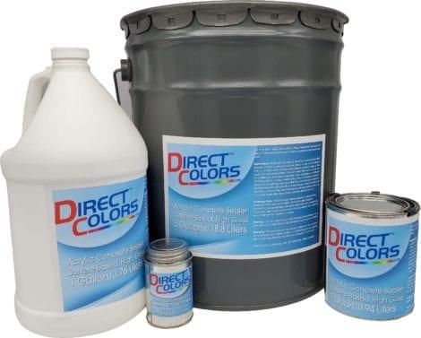 Acrylic Sealer, Water-Based, Satin Finish