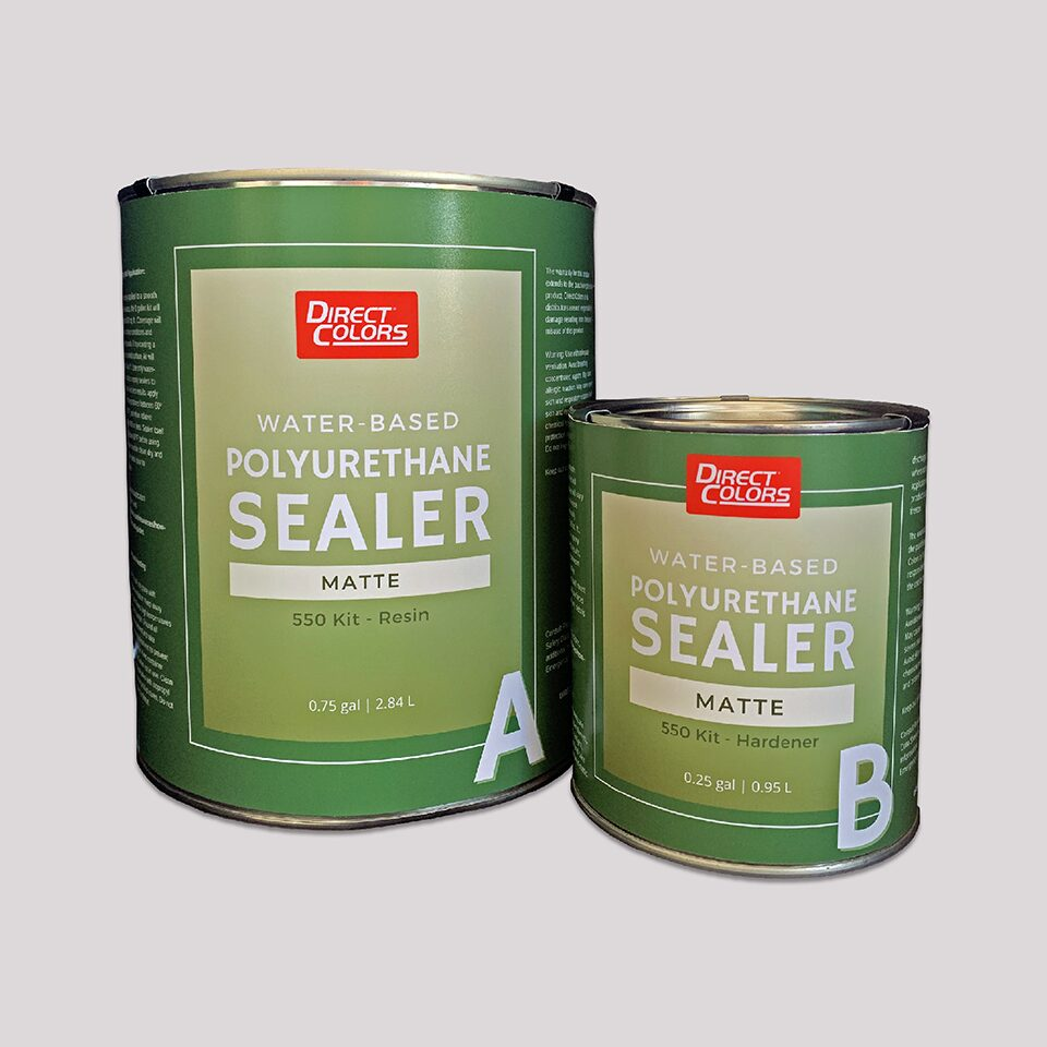 Poly Sealer Water-Based Matte