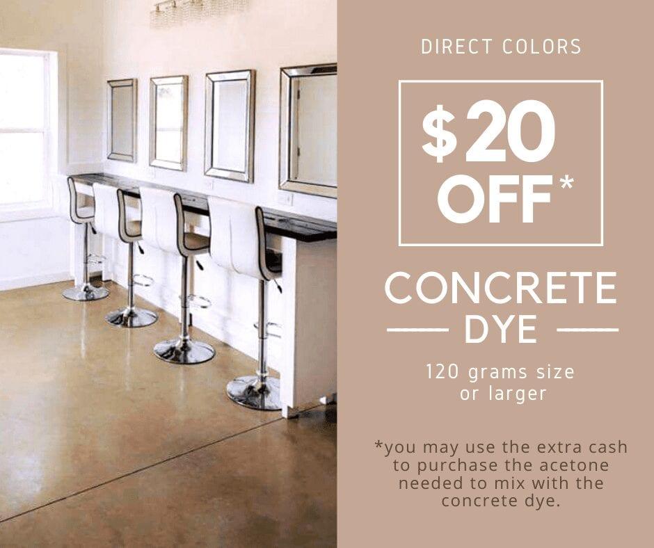 Concrete Dye Sale
