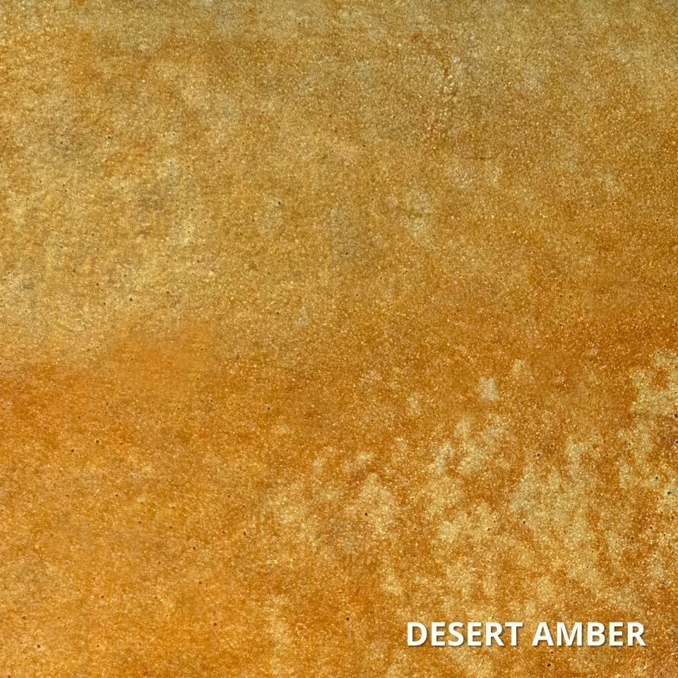 Desert Amber Concrete Acid Stain Swatch