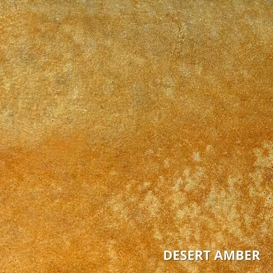 Desert Amber Concrete Acid Stain Swatch