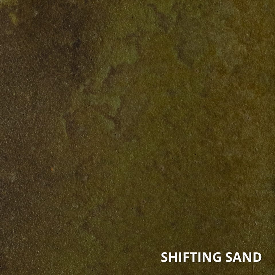 Shifting Sand Concrete Acid Stain Swatch