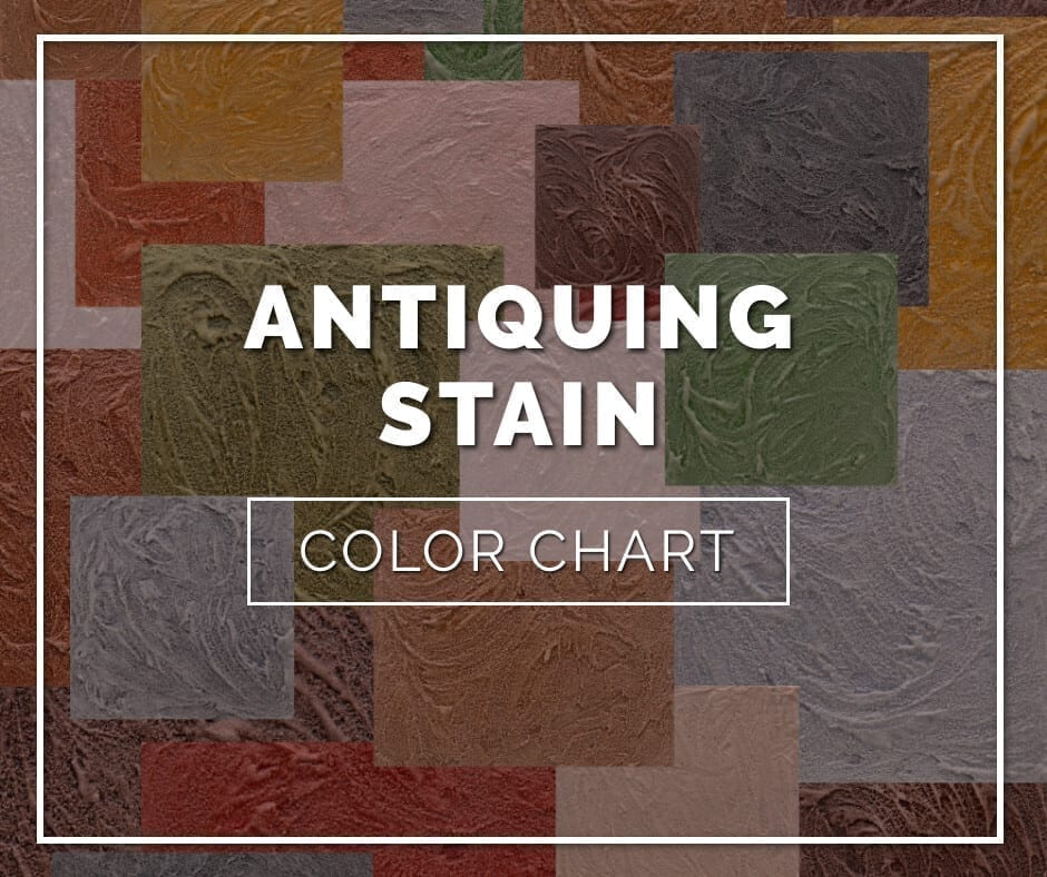 Antiquing Concrete Stain Color Chart
