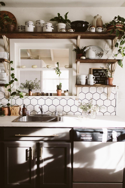 Skimcoat White Overlay Countertop