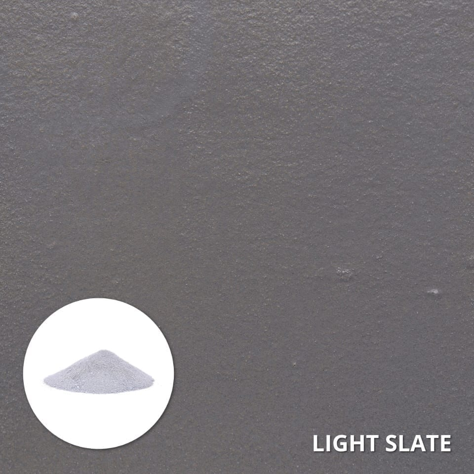 Concrete Dye Swatch - Light Slate