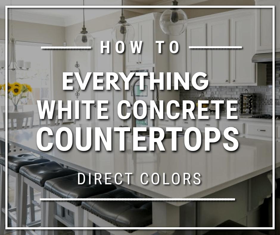 Everything White Concrete Countertops - 940x788