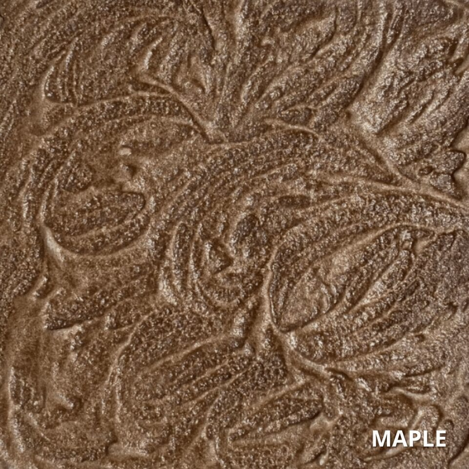 Maple Antiquing Concrete Stain Color Swatch