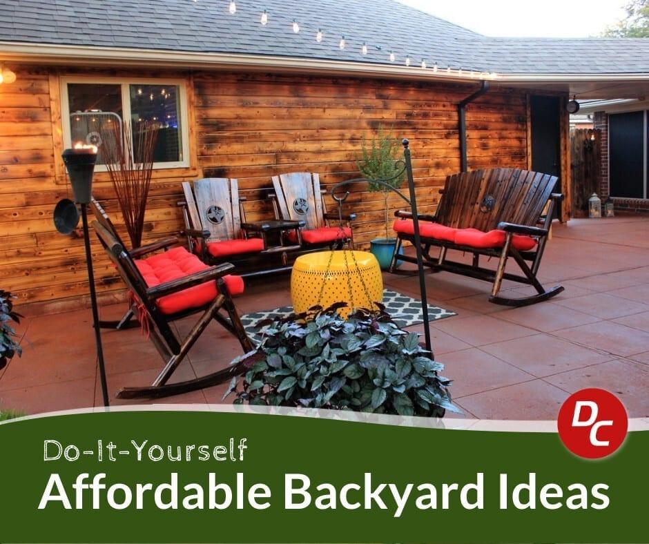 4 Affordable Backyard Ideas