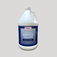 Acrylic Concrete Sealer Water Glossy 1 gal