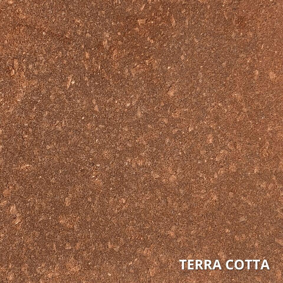 Portico Terra Cotta Concrete Paver Stain