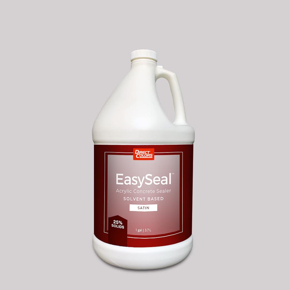 Acrylic Concrete Sealer Solvent Satin 1 gal