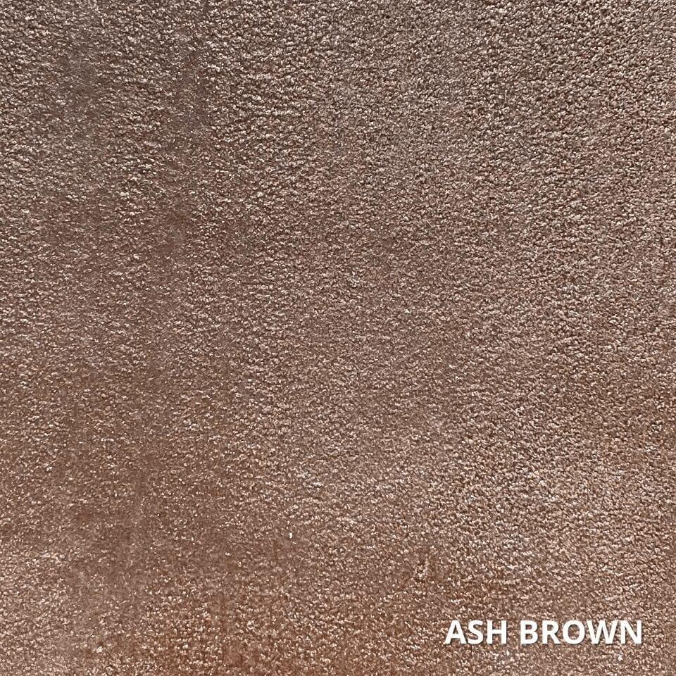 Ash Brown Concrete Dye Color Swatch