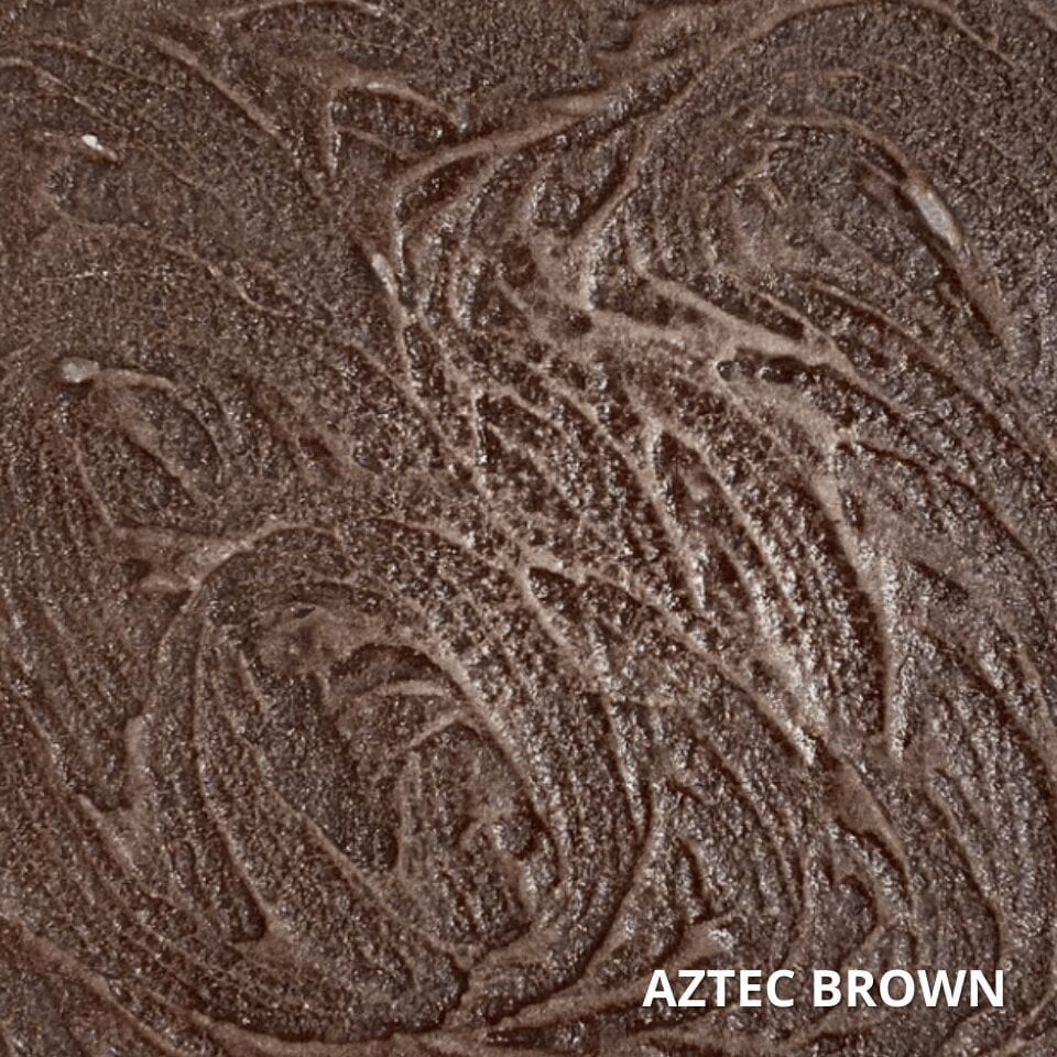 Aztec Brown Antiquing Stain Color Swatch
