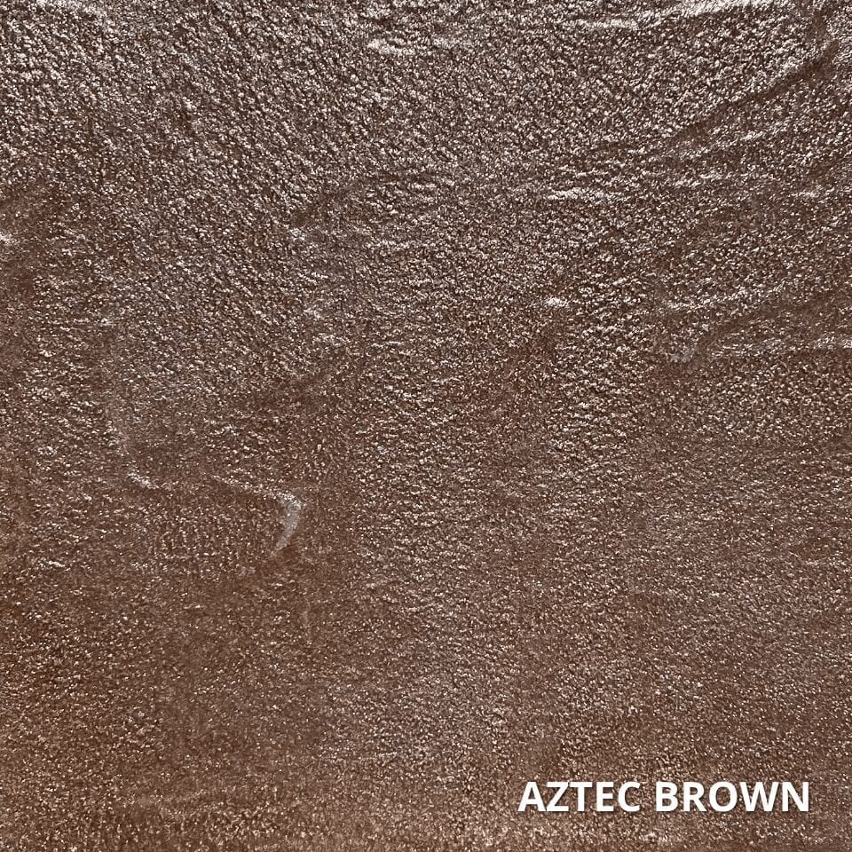 Aztec Brown Concrete Dye Color Swatch