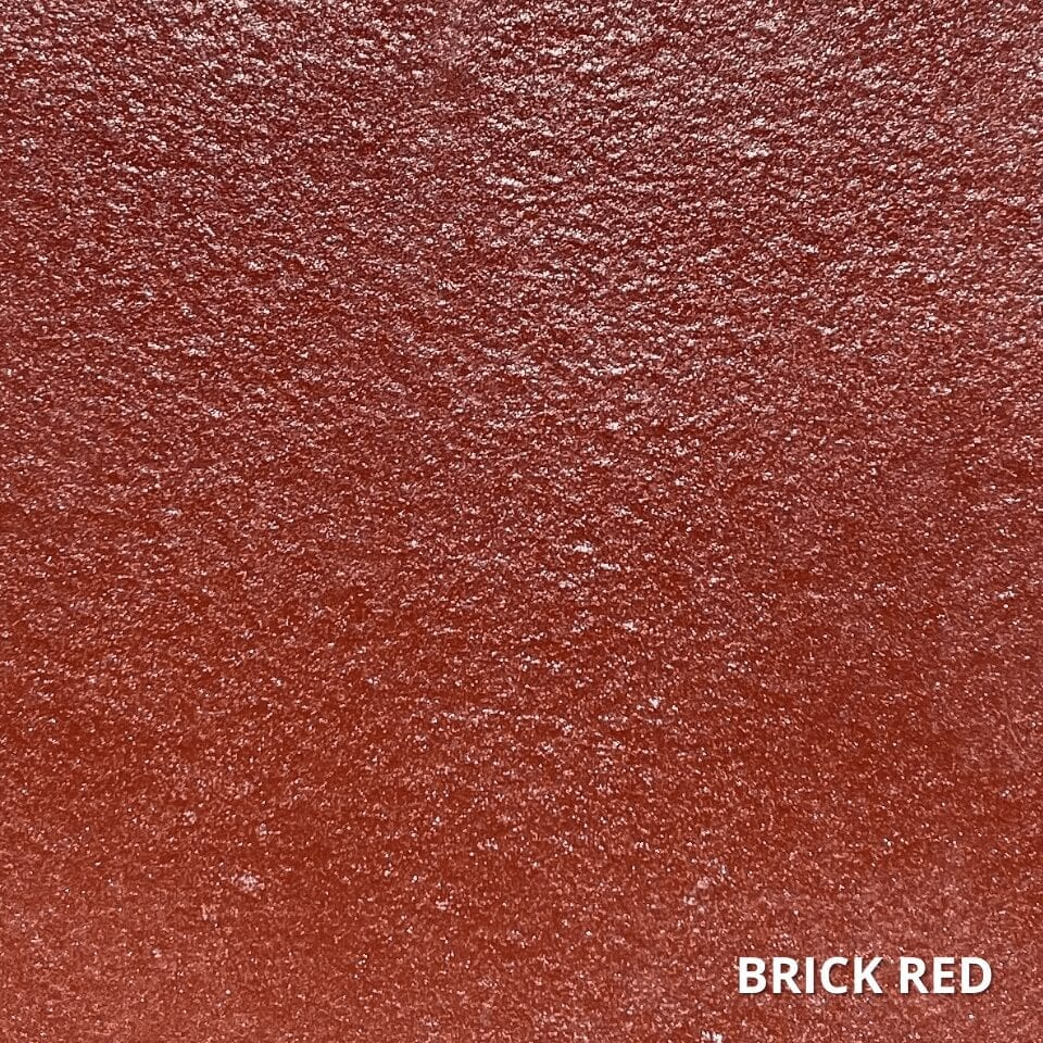 Brick Red Concrete Dye Color Swatch