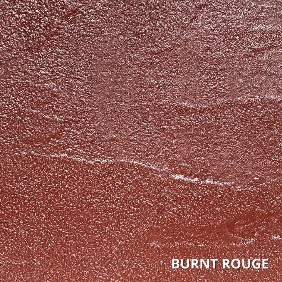 Burnt Rouge Concrete Dye Color Swatch
