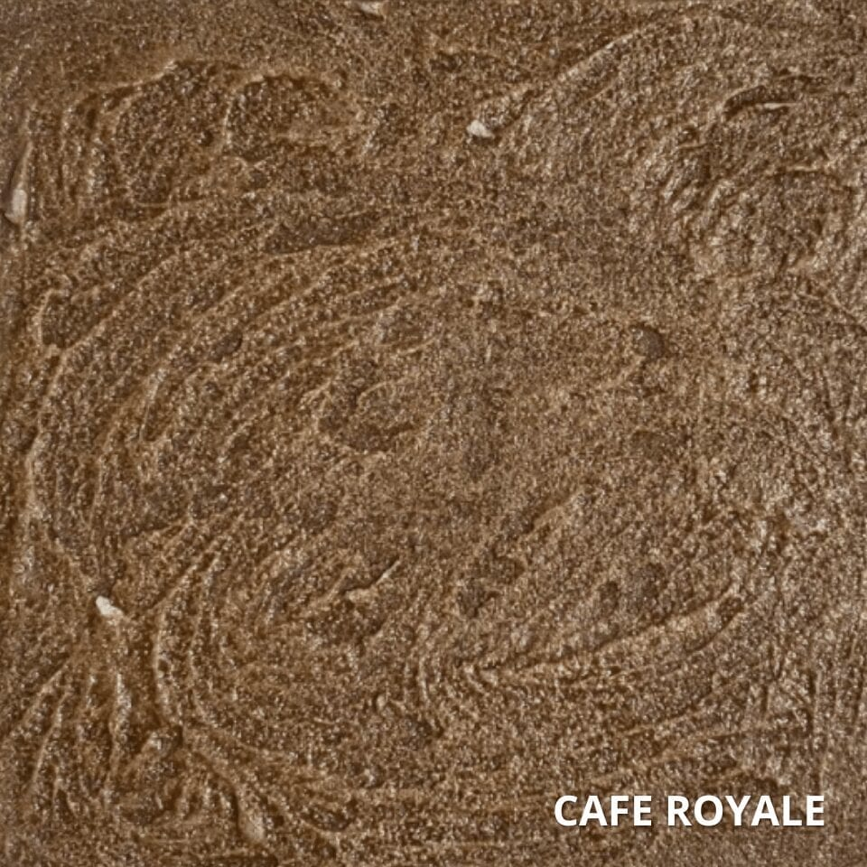 Cafe Royal Antiquing Concrete Stain Color Swatch