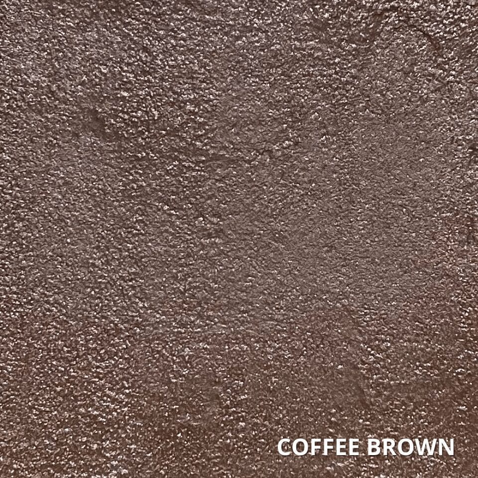 Coffee Brown Concrete Dye Color Swatch