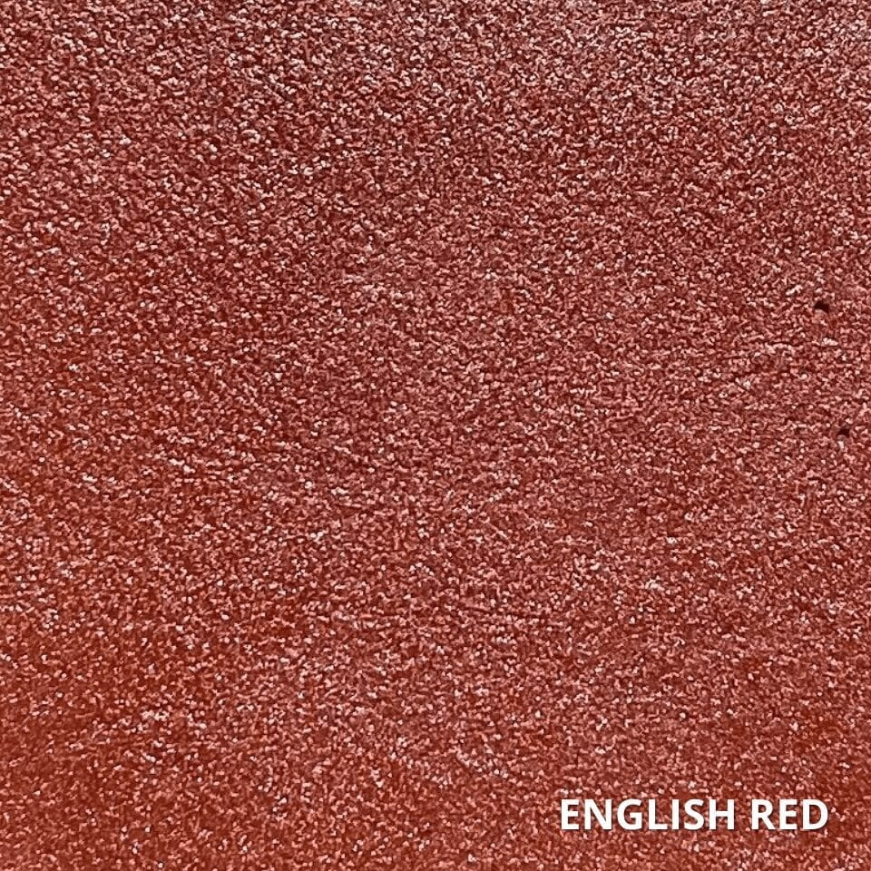 English Red Concrete Dye Color Swatch