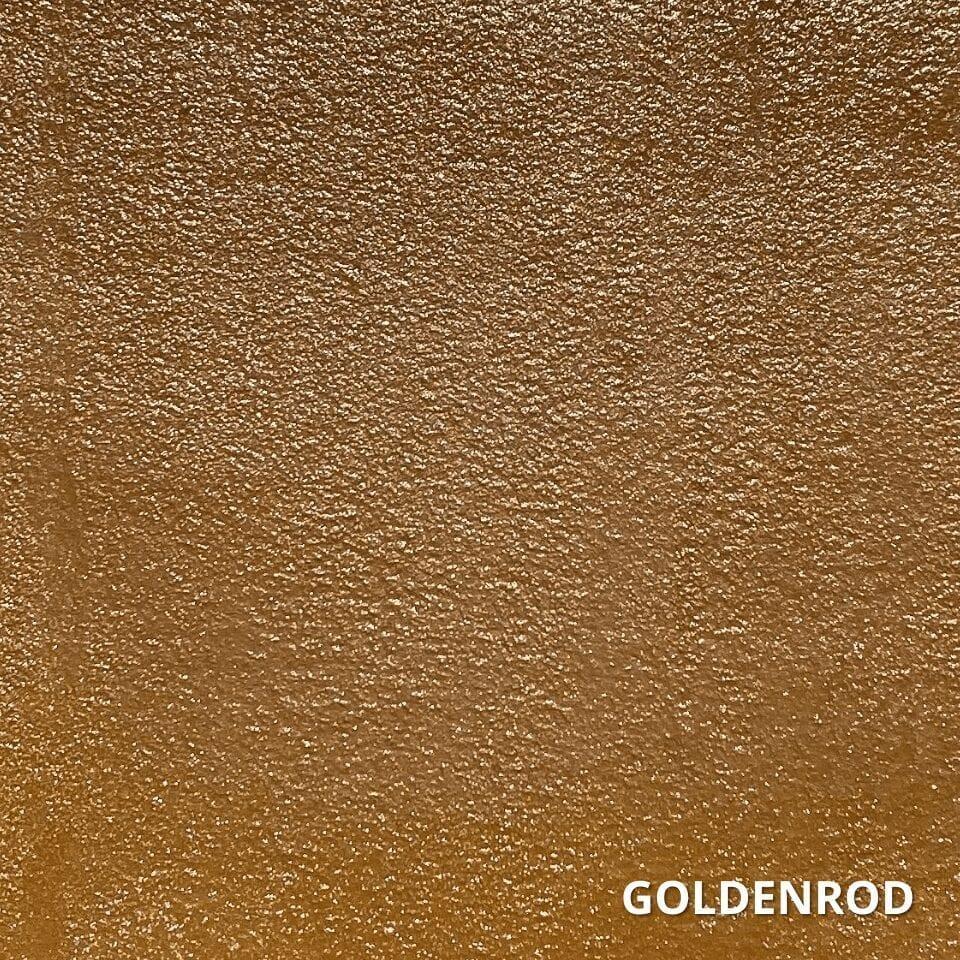 Goldenrod Concrete Dye Color Swatch