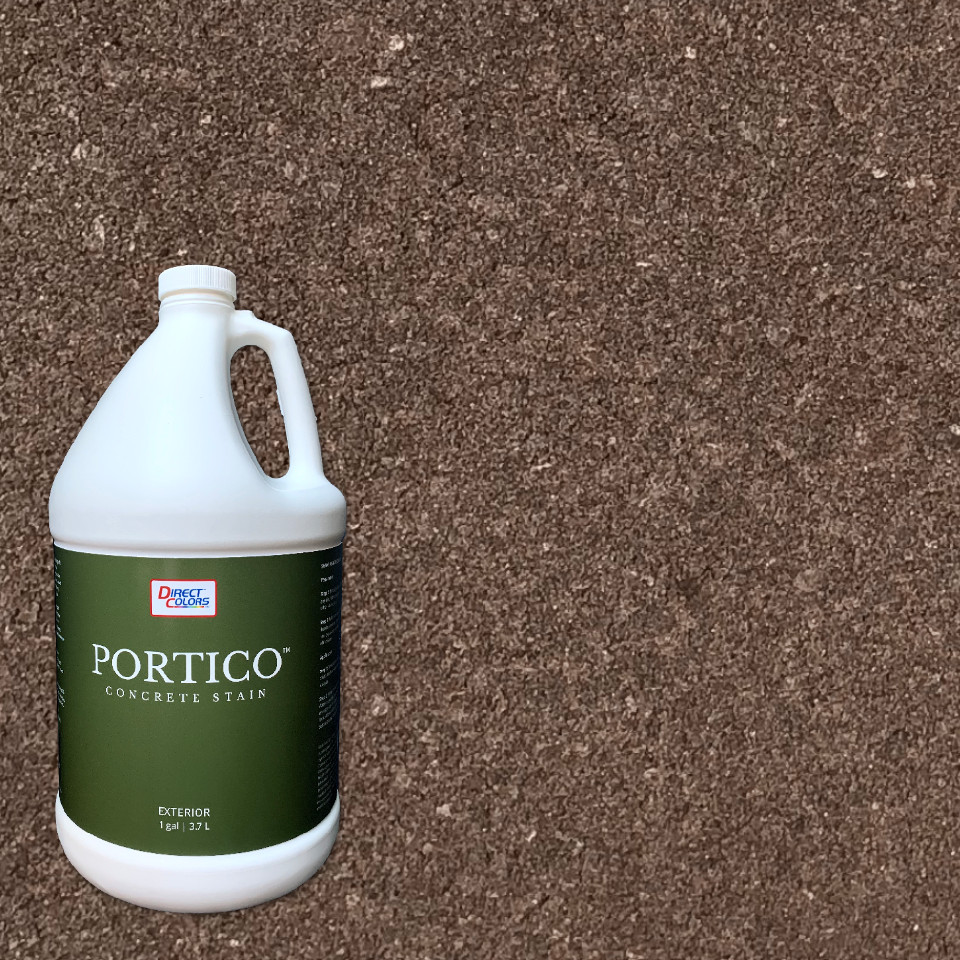 Portico Paver Stain - Aztec Brown
