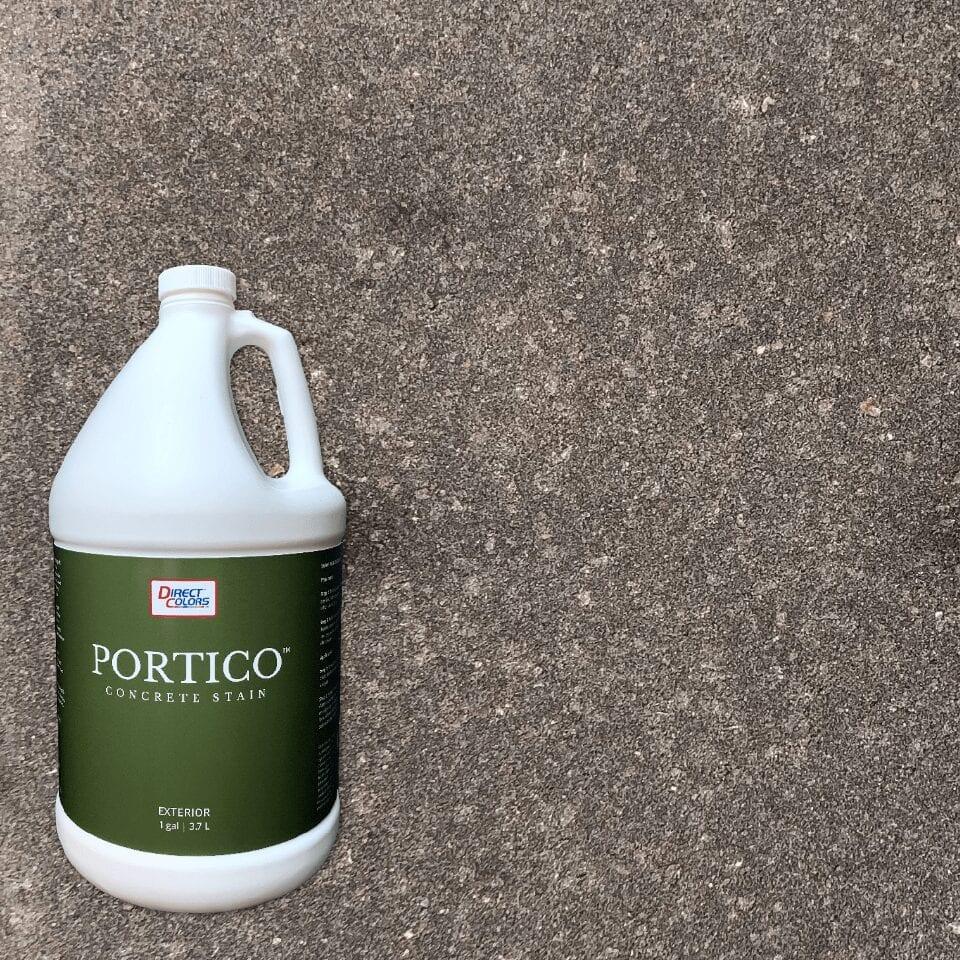 Potico concrete paver stain