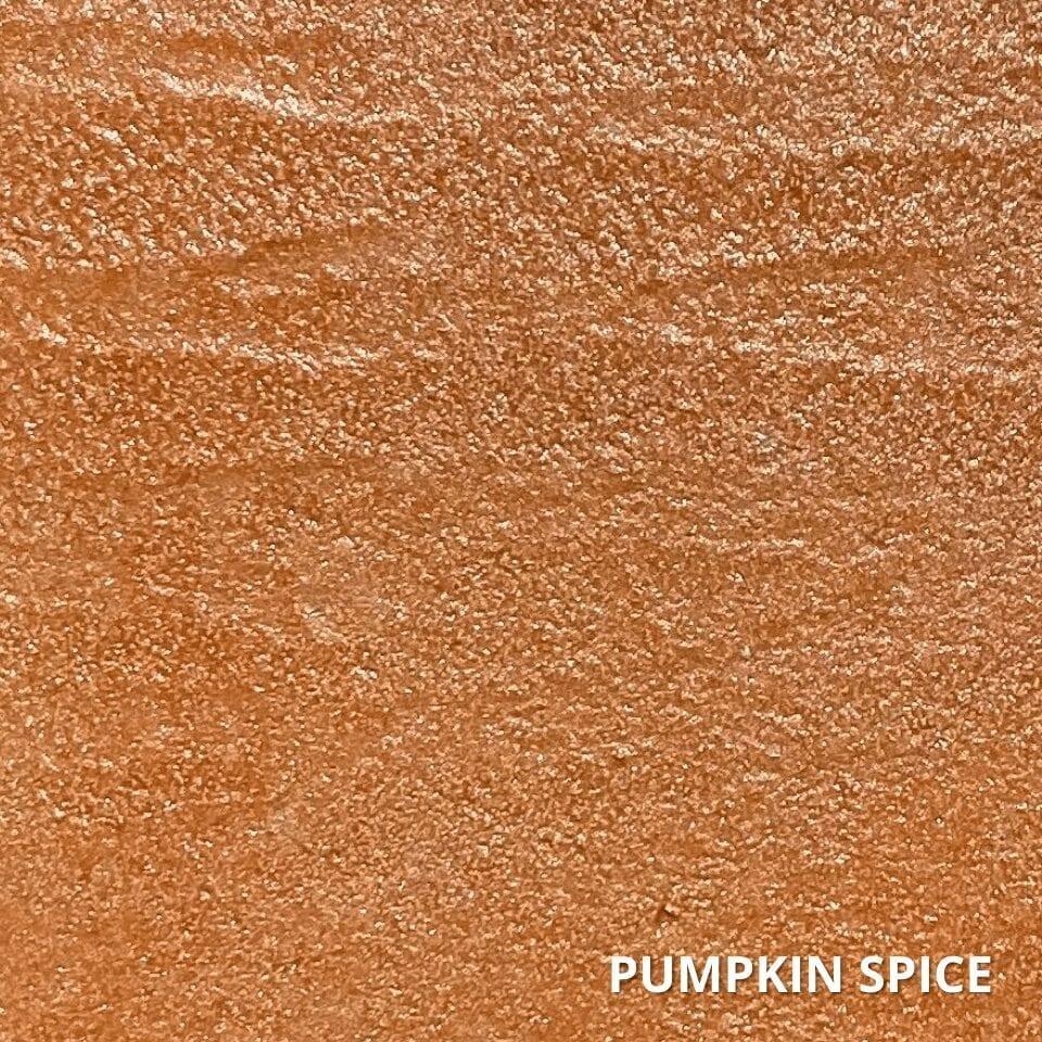 Pumpkin Spice Concrete Dye Color Swatch