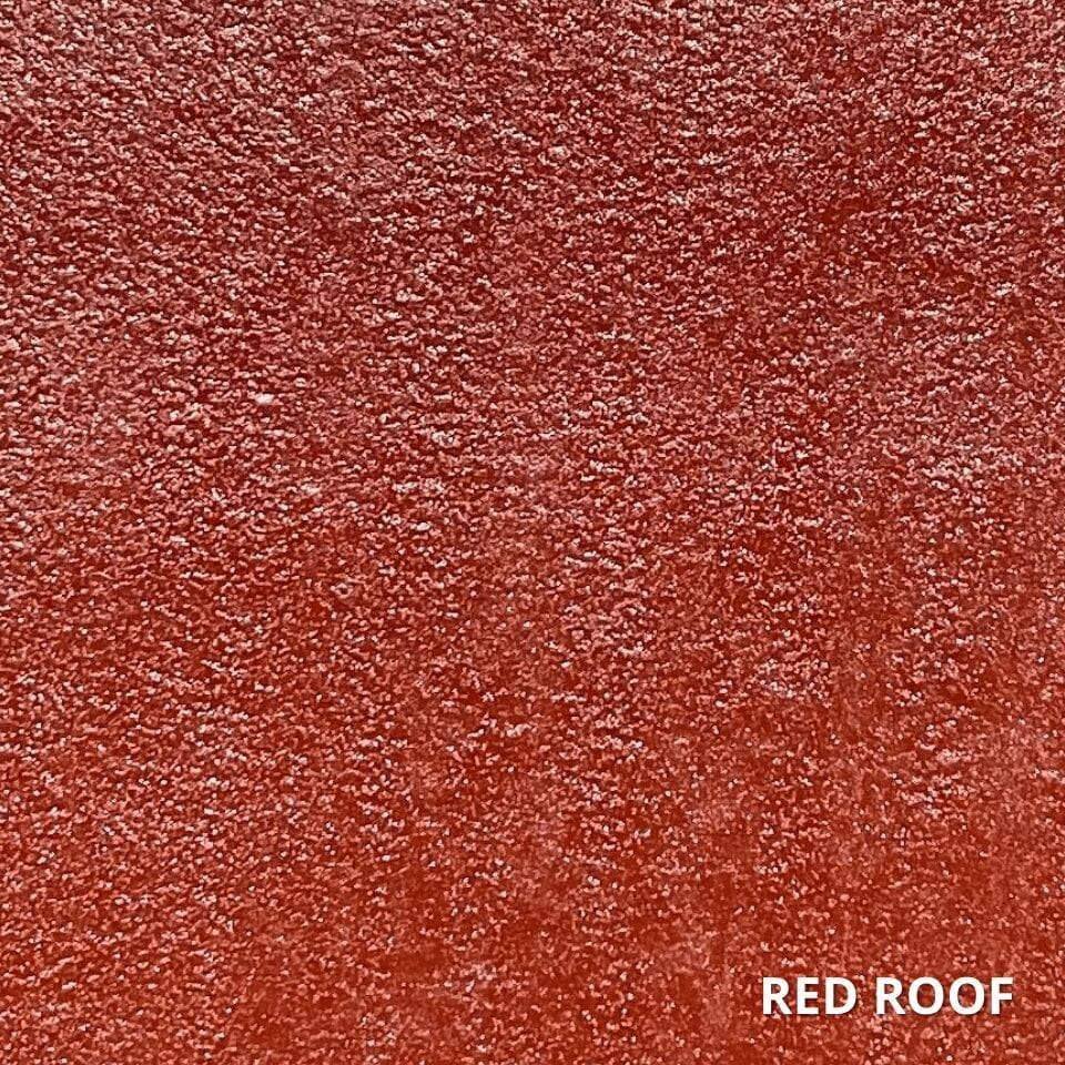 Red Roof Concrete Dye Color Swatch