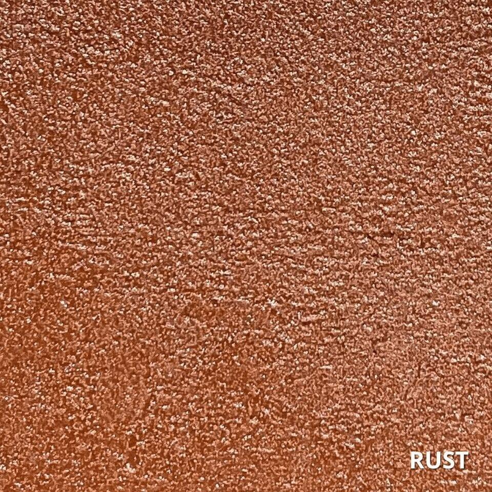 Rust Concrete Dye Color Swatch