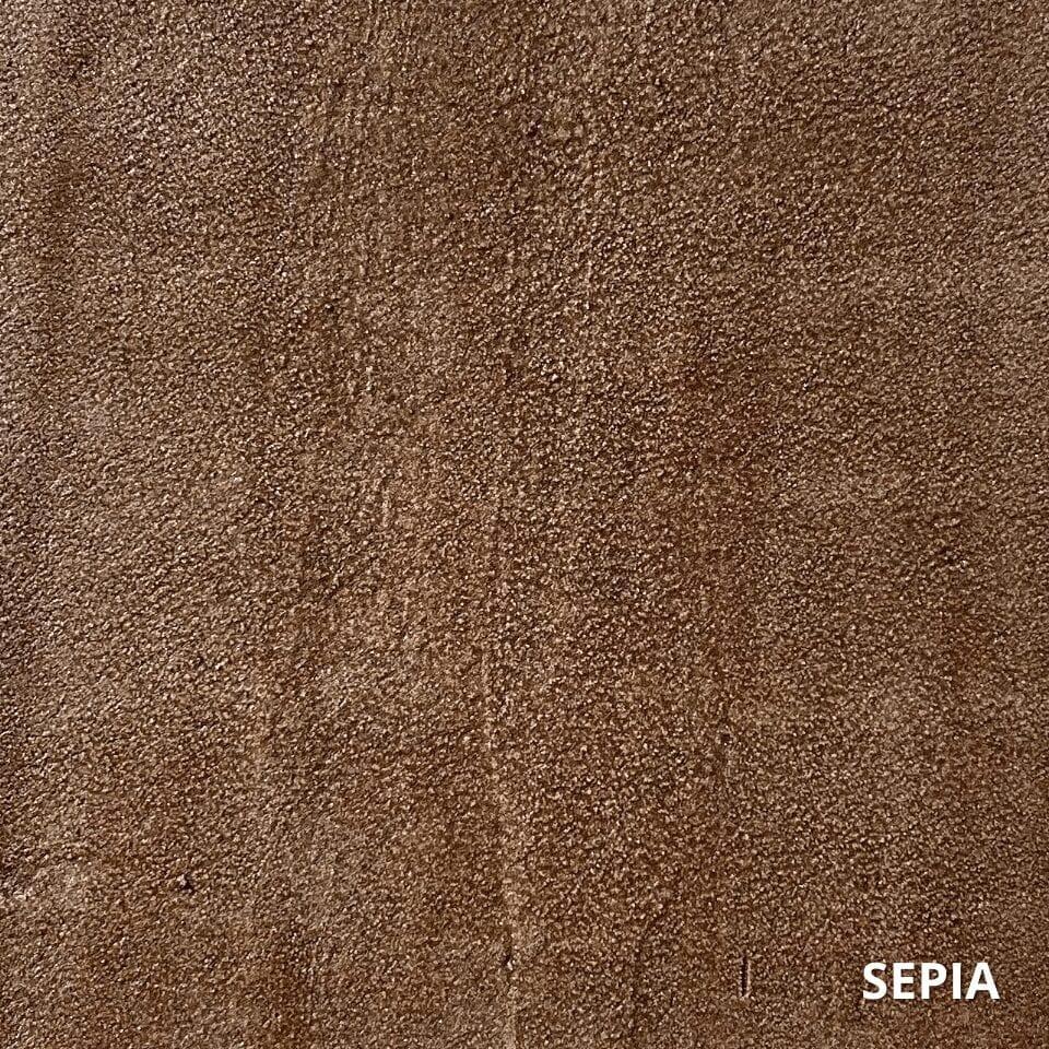 Sepia Concrete Dye Color Swatch