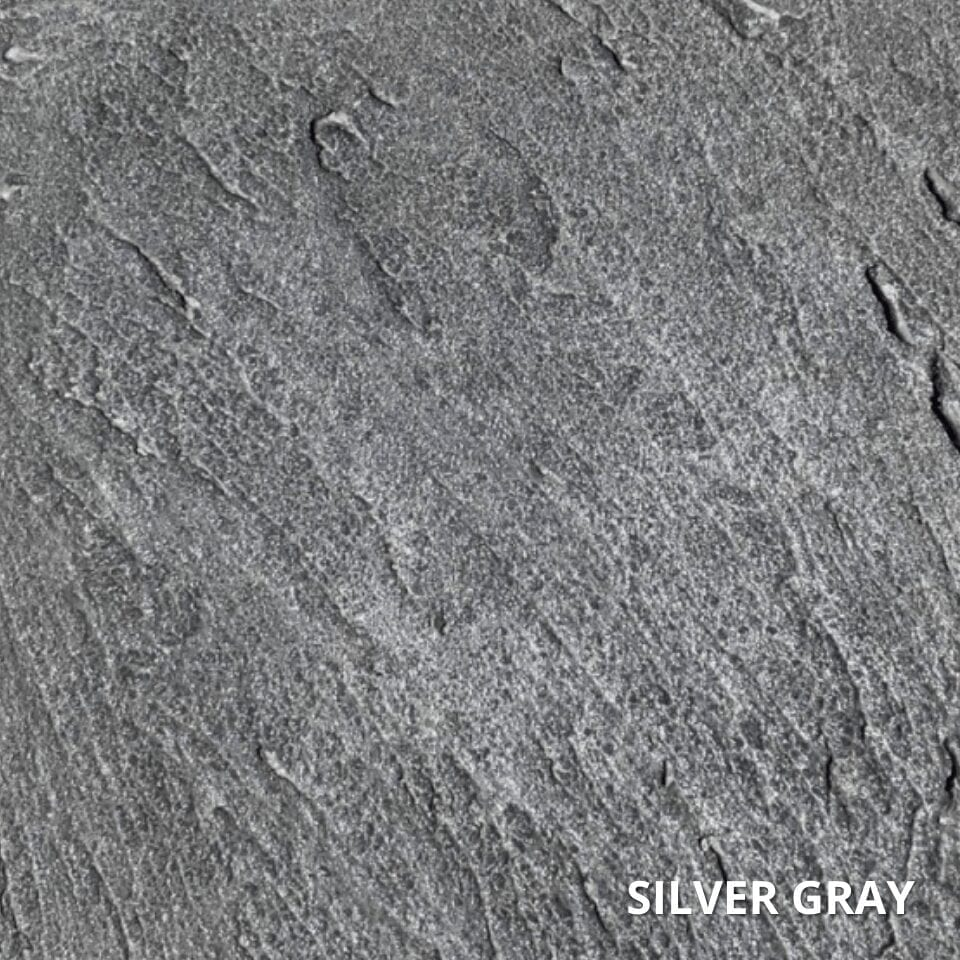 Silver Gray Antiquing Concrete Stain Color Swatch