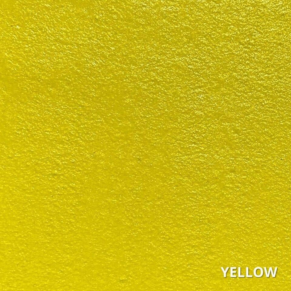 Yellow Concrete Dye Color Swatch
