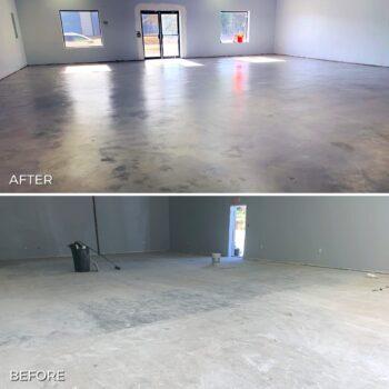 Colored SIlver Gray Tinted Concrete Sealer