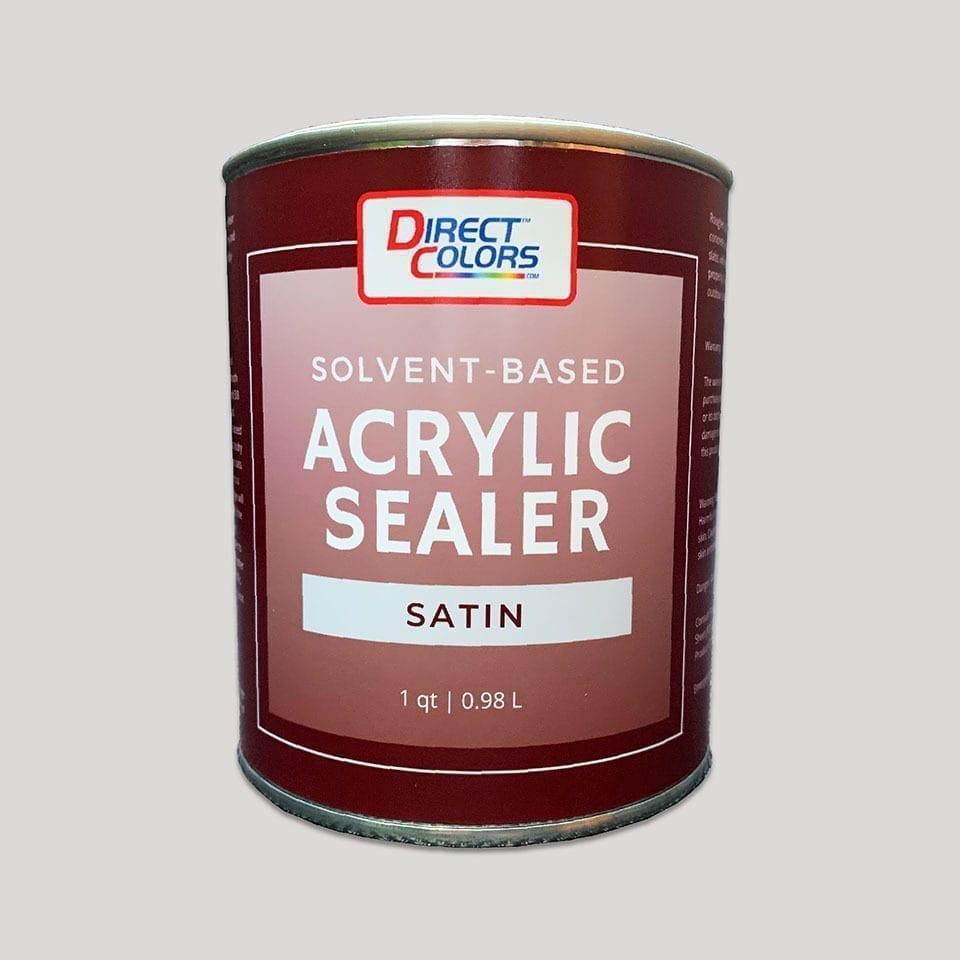 Concrete Sealer - Solvent Satin 1 qt