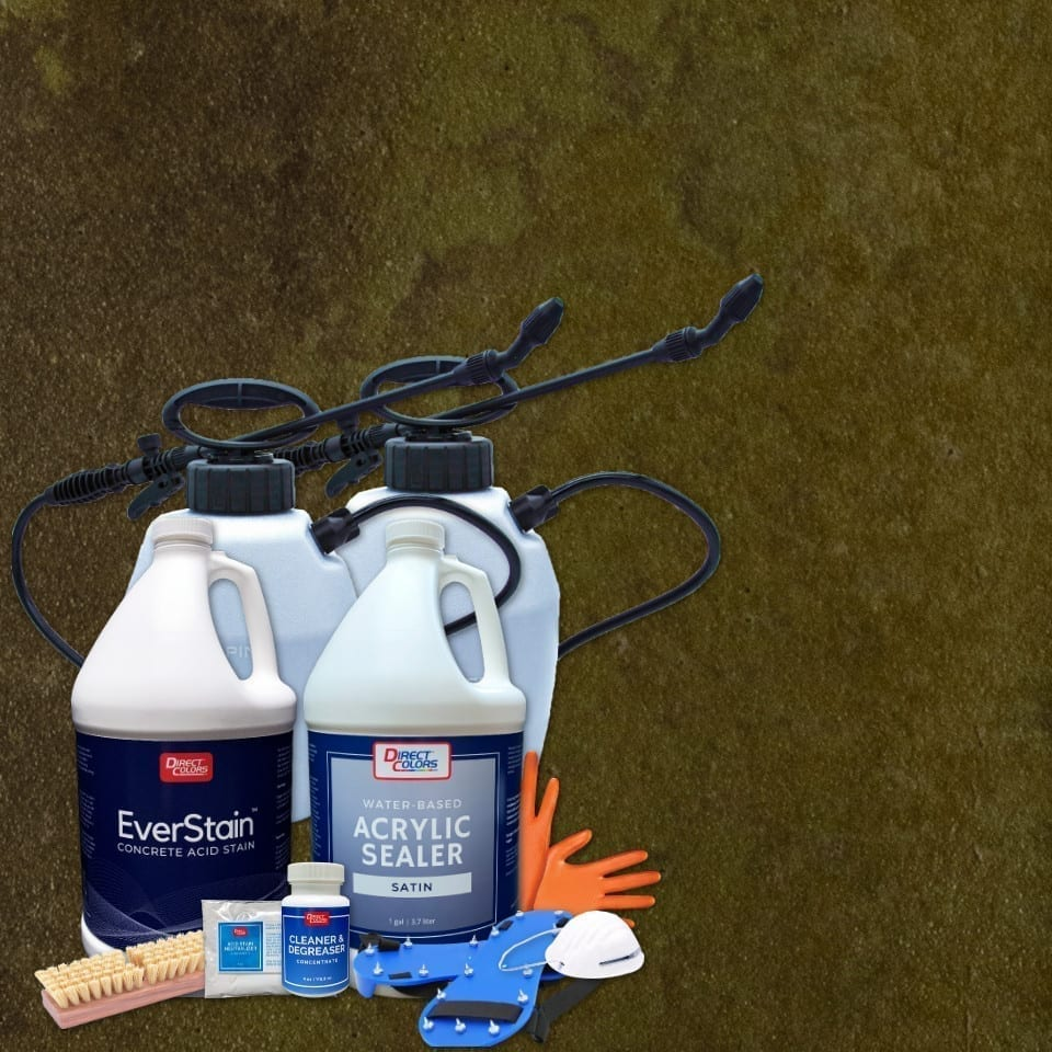 Acid Stain Kit for 200 sq ft project
