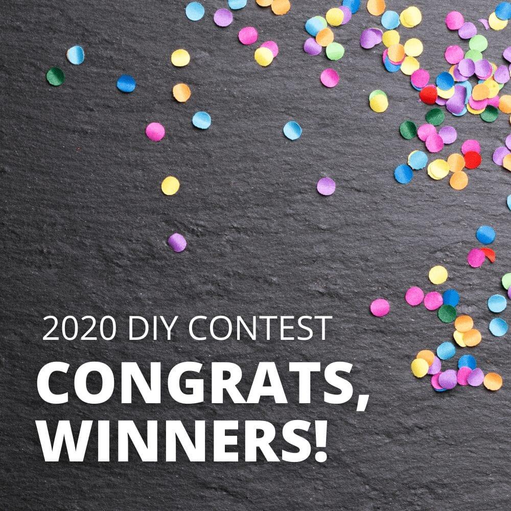 2020 - DIY Contest Winners