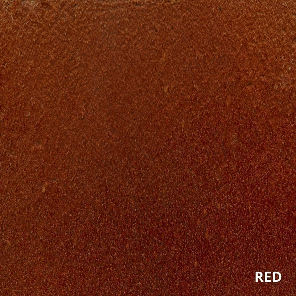 RED ColorWave Concrete Stain Color Swatch-High-Quality