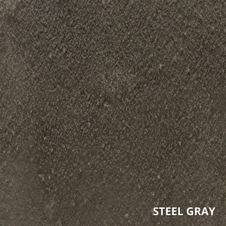 STEEL GRAY ColorWave Concrete Stain Color Swatch-High-Quality