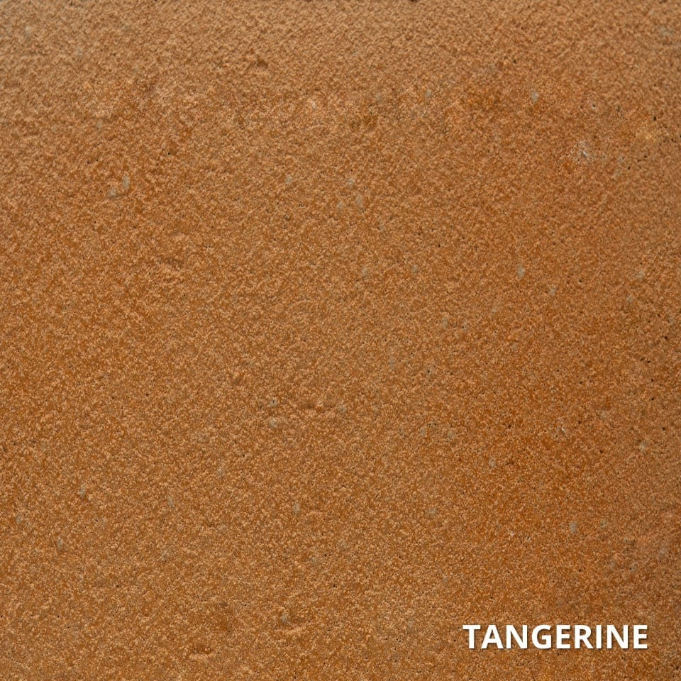 TANGERINE ColorWave Concrete Stain Color Swatch-High-Quality