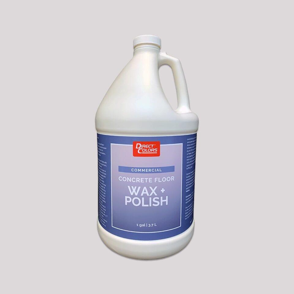 Concrete Floor Wax - Commercial 1 gal