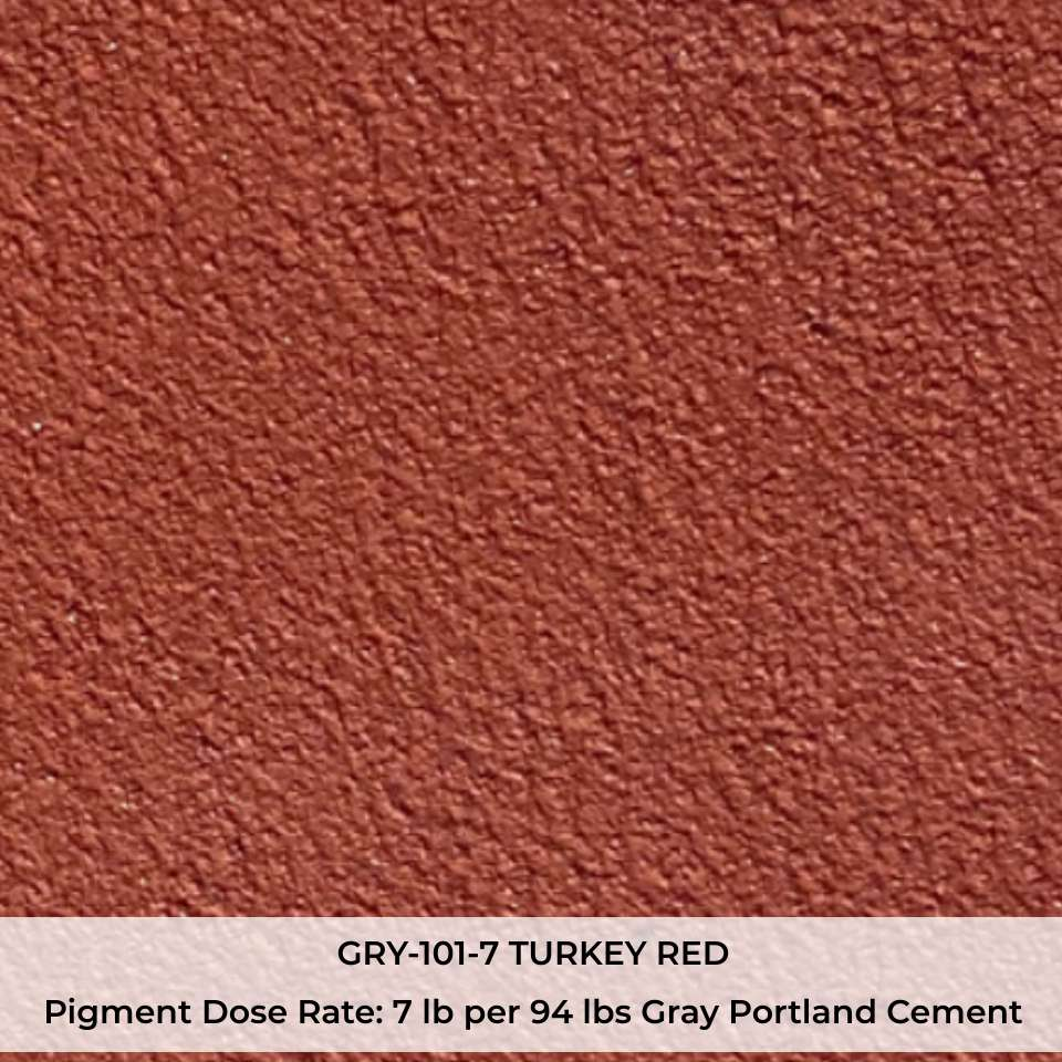 GRY-101-7 TURKEY RED Pigment