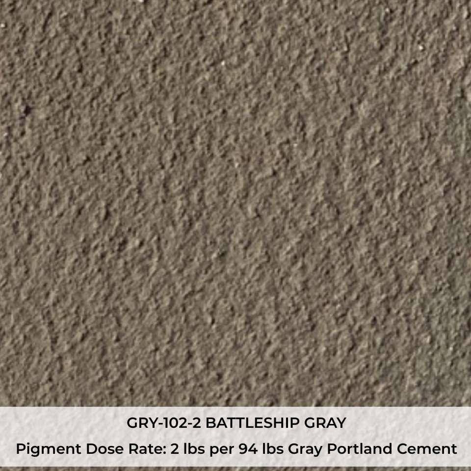 GRY-102-2 BATTLESHIP GRAY Pigment