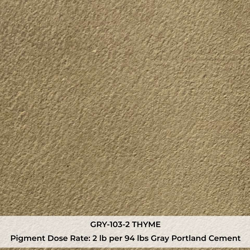 GRY-103-2 THYME Pigment