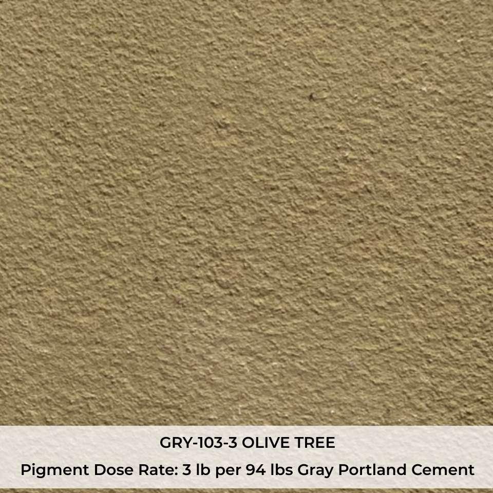 GRY-103-3 OLIVE TREE Pigment