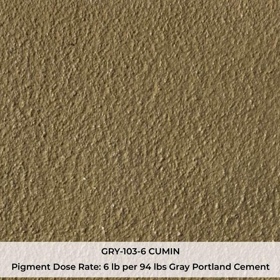 GRY-103-6 CUMIN Pigment